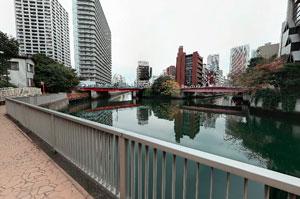 藻塩橋と百代橋