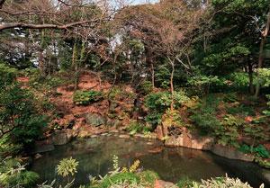 古河庭園大滝