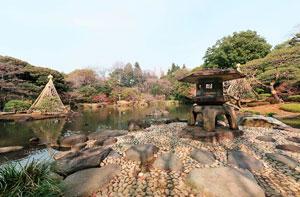 旧古河庭園心字池