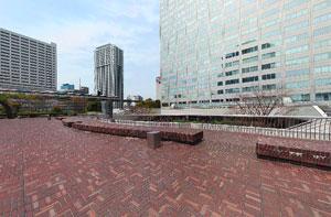 芝浦一丁目公開空地
