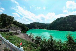 上州湯の湖
