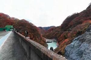 五十里ダム天端