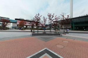 エントランス広場