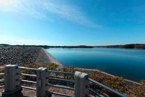 狭山湖左岸