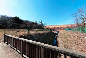 狭山湖洪水吐け