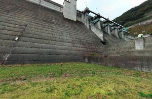 大川ダムダム下