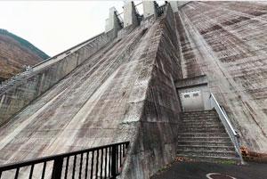 滝沢ダムダム下