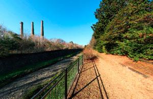 昭和記念公園煙突と