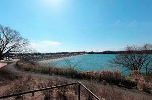 多摩湖排水路