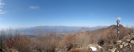 茅が岳山頂