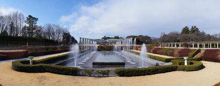 神代植物公園噴水
